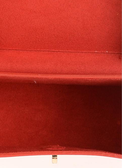Agenda Kutu Omuz Çantası Kırmızı